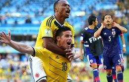 """World Cup 2014 bảng C: Khó cho Nhật Bản và vé cho """"Bầy voi"""""""