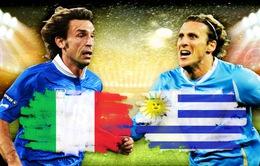 """Lịch phát sóng World Cup 2014 đêm 24/6 và rạng sáng 25/6: Cuộc đua """"tử thần"""" Italy - Uruguay"""