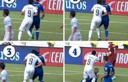 Chứng nào tật nấy với Chiellini, Suarez có thể bị cấm thi đấu World Cup 2014