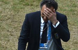 Thua đau Uruguay, HLV Prandelli từ chức HLV ĐT Italia