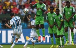 Chùm ảnh: Messi toả sáng rực rỡ, Argentina giành ngôi đầu bảng F
