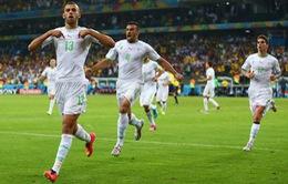 Bảng H World Cup 2014: Algeria xuất sắc đoạt vé trên tay Nga