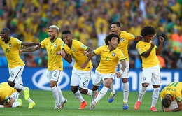 """Nhọc nhằn đánh bại Chile sau loạt """"đấu súng"""", Brazil vào tứ kết"""