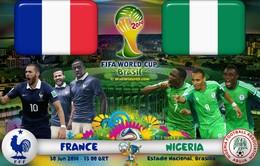 Lịch PHÁT SÓNG World Cup 2014 đêm 30/6 và rạng sáng 1/7: Chờ tin chiến thắng của Pháp và Đức