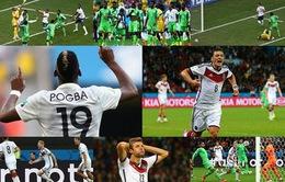Tứ kết World Cup 2014: Chờ đợi đại chiến Pháp - Đức, Brazil - Colombia