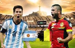 Lịch PHÁT SÓNG World Cup 2014 đêm 5/7 và rạng sáng 6/7: Chờ tin chiến thắng của Argentina và Hà Lan