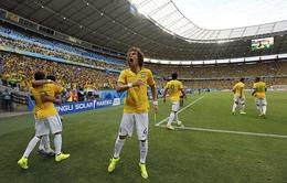 Brazil 2-1 Colombia: Selecao nhọc nhằn giành vé vào bán kết