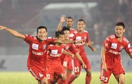 Vòng 20 V.League: B.Bình Dương chiếm ngôi đầu bảng