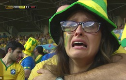 """Brazil 1-7 Đức: """"Cỗ xe tăng"""" nghiền nát binh đoàn Selecao"""