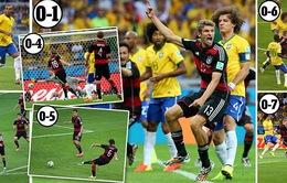 """Chùm ảnh: Nhìn lại """"thảm hoạ thế kỷ"""" của bóng đá Brazil"""