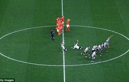 Chùm ảnh: Argentina nghẹt thở vượt qua Hà Lan giành vé vào chung kết World Cup 2014