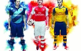 Bộ ảnh áo đấu tuyệt đẹp của Arsenal mùa giải 2014/15