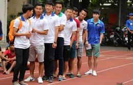 Tuyển thủ U19 Việt Nam hào hứng thi Đại học