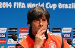 """HLV Joachim Low: """"Argentina đâu chỉ có mình Messi"""""""