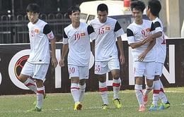 Đội tuyển U19 Việt Nam loại 5 cầu thủ