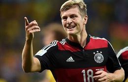 CHÍNH THỨC: Toni Kroos ký hợp đồng 6 năm với Real Madrid