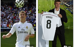 Chùm ảnh: Toàn cảnh Toni Kroos tự tin ra mắt Real Madrid