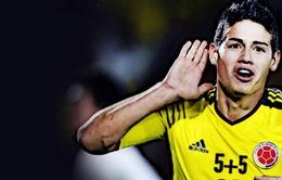 Chuyển nhượng sáng 18/7: Real biến James Rodriguez thành cầu thủ đắt giá thứ 3 thế giới