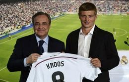 Chủ tịch Real kỳ vọng Kroos sẽ đem về cúp bạc thứ 11