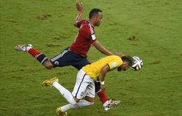 Hậu World Cup 2014: Làm Neymar chấn thương, Zuniga vẫn bị dọa giết mỗi ngày