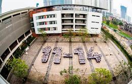 Trường THPT chuyên Hà Nội - Amsterdam chào đón sự kiện IChO 2014 tổ chức tại Việt Nam