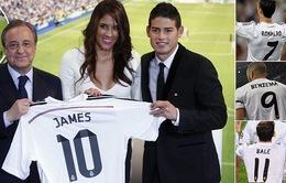 CHÙM ẢNH: Toàn cảnh James Rodriguez xúc động ra mắt Real Madrid