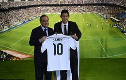 CHÍNH THỨC: James Rodriguez gia nhập Real Madrid