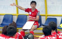 'Nữ tướng' Văn Thị Thanh làm trợ lý cho HLV Mai Đức Chung