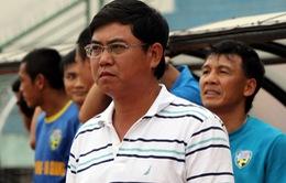 Bị VFF kỷ luật, HLV An Giang xin từ chức