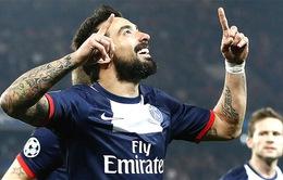 """Chuyển nhượng sáng 6/8: Liverpool vung """"tiền tấn"""" mua Lavezzi, Arsenal tiếp tục trắng tay"""