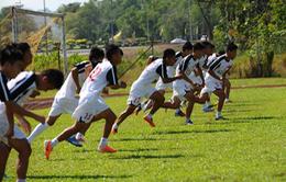 Những hình ảnh đầu tiên của ĐT U19 Việt Nam trên đất Brunei