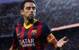 Quyết định ở lại, Xavi trở thành tân đội trưởng của Barca