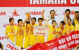 Kết thúc Giải BĐ Nhi đồng TQ 2014: Hải Dương bảo vệ thành công ngôi vô địch