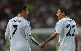 Chuyển nhượng tối 12/8: Real không muốn bán Di Maria và Khedira