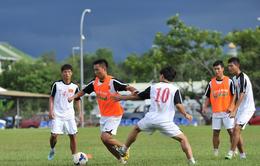 U19 Việt Nam và hình ảnh tập luyện cuối cùng trước trận gặp Brunei