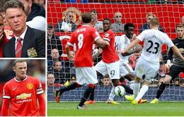 Man Utd 1-2 Swansea: Quỷ đỏ gục ngã ngay trên sân nhà