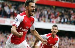 Arsenal ngược dòng ngoạn mục trước Crystal Palace (VIDEO)