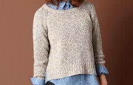 5 cách mix đơn giản mà đẹp với áo len khi gió mùa về