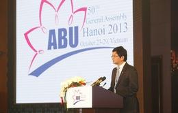 TGĐ Trần Bình Minh phát biểu chào mừng ABU GA 50