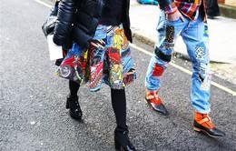 Sắc màu tại tuần lễ thời trang Thu - Đông 2014 London