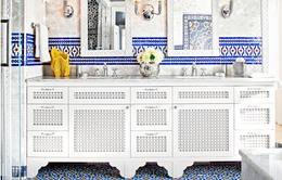 10 ý tưởng về màu sắc cho phòng tắm nhà bạn