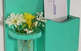 Làm mới không gian với những lọ hoa độc đáo
