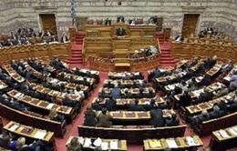 Quốc hội Hy Lạp thông qua dự luật tăng thuế