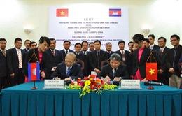 Việt Nam - Campuchia: Ký Hiệp định Tương trợ tư pháp dân sự