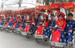 Đám cưới tập thể đầu tiên tại Hà Nội