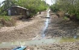 Thiếu hụt ngiêm trọng nguồn nước ở ĐBSCL