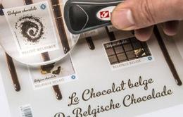 Bỉ phát hành tem có hương vị chocolate