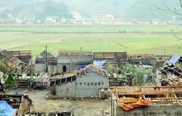 Cao Bằng, Lào Cai thiệt hại nặng sau mưa đá