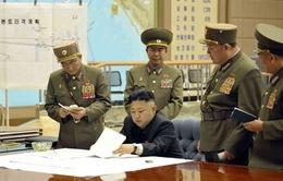 Kim Jong-un họp khẩn cấp với các tướng lĩnh  quân đội