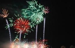 Pháo hoa quốc tế 2013: Hội ngộ sắc màu trên sông Hàn